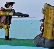 1896 William Tell Mechanical Bank Original Paint And Working Condition