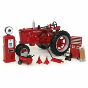 1/16 1939 Farmall M Red Chrome Parts And Service Set Only 200 Madeertl 16370 Nib