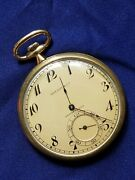 And Co By Swiss Agassiz 45mm Pocket Watch 17 Jewel 18k Solid Gold
