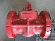 Plug Valve Nordstrom 1585 Cast Iron 6 250 Raised Face Flanged 500cwp Wrench Op.