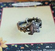 Mary Engelbreit Ring Home Is Where The Heart Is New Size 7 1/4