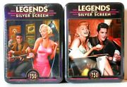 Puzzle - Jigsaw Masterpieces Silver Screen Elvis And Marilyn 750 Pcs Lot Of 2 Nip