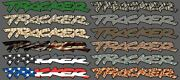 Geo Tracker Decal Vinyl Printed Graphic Custom Color Design Stock Size Free Ship