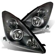 For 2000-2005 Toyota Celica Gt/gts Led Halo Projector Headlights Set