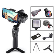 3-axis Handheld Gimbal Stabilizer W/focus Pull And Zoom For Phones Action Camera