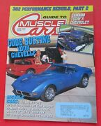 Guide To Muscle Cars Magazine June/1990...1971 Buick Gsx...1966 Hertz Gt350..