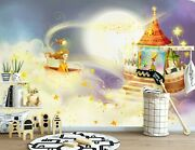 3d Dream Castle 636nao Business Wallpaper Wall Mural Self-adhesive Commerce Amy