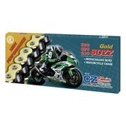 Cz Hd X Ring Chain Motorcycle Motorbike 520orh Gold Active X 110