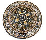 48 Marble Center Table Top Pietra Dura Marquetry Handmade Inlay Work Home Decor