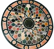 42 Marble Table Top Inlaid Multi Stones Pietra Dura Work Home Decor And Gifts