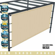 Shade Cover Canopy Pergola Patio Porch Privacy Shade Screen Panel With Grommets