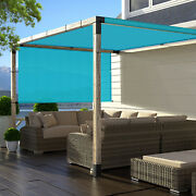 Green Large Outdoor Sun Shades Pergola Canopy Replacement Cover Outdoor Yard Pat