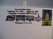 1st First Day Cover Tennessee Bicentennial Station Train Envelope Stamp 1996