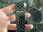Rare Concord Black And 18k Gold 24mm Stunning Unisex Watch