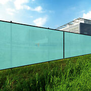 Turquoise 8ft Privacy Fence Windscreen Screen Mesh Hdpe Netting Fabric Outdoor