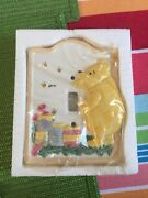 Charpente Classic Pooh Winnie The Pooh Switch Plate 65060 Baby New