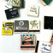 Lot Of 171 Vintage Miscellaneous Matchbooks Covers Midcentury Southern Artwork