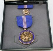 Dept Of The Army Achievement Medal And Pin And Box Free Shipping