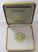 2005 Canada 150 Dollars Gold Lunar Year Of The Rooster Proof Coa 1160