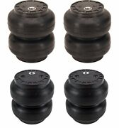 Ss6 Ss7 Slam Bags Air Ride Suspension 1/2npt Port Two Pair Airbags Ss-6 Ss-7