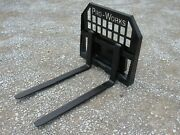 42 2200 Pound Pallet Forks For Toro Dingo Ditch Witch Vermeer Mini Skid Steer