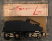 N Scale Brass Swift Line Slope Back Tender For Steam Engines Or Mow