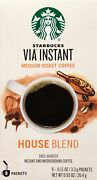 Starbucks Via Instant Coffee | House Blend | 96 Count