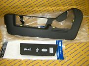 Ford F150 Drivers Seat Side Plastic Bezels And Switch Holder Oem 2009-2013 Black