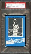 1982-1983 Larry Bird Sycamore Rampage Indiana State Psa 9 Mint Pop 5. No 10 's