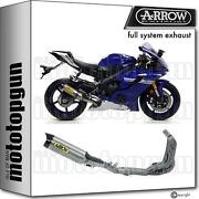 Slip-on Competition Ti Arrow Th Titanium C Yamaha Yzf 600 R6 17/20