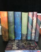 Harry Potter Books 8 Books By J. K.rowling Hardcover First American Edition Andf,e