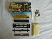 Vintage Athearn Trains Ho Scale Shell 3-dome Tank Car Kit 1500 Nos