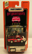 Dte Sample Card Matchbox Superfast 17-i Red/white Coca-cola '99 Ford Mustang