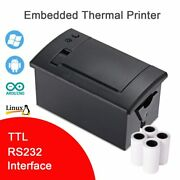 Thermal Printer Ttl Rs232 Embedded Pos Receipt Atm Ticket Micro Panel Machine