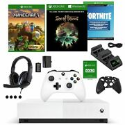 Xbox One S Digital Fortnite Bundle With Accessories Kit