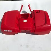 New Arctic Cart Oem Fenderrear - Assembly Red 2516-071