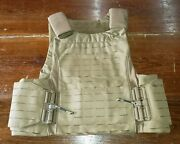 Firstspear Sloucher 6/12 Tubes L Coyote Brown Low Vis Armor Carrier Plate Lvac