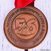 56th Annual Grammy Awards Nominee Medal Bronze Medallion - Mint