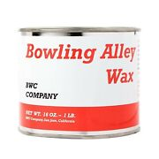 Bowling Alley Wax Clear Paste   For Cleaning Polishing Furniture And Floors   16oz
