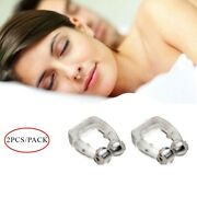 Usa Noses Clip Sleeping Aids Clipple Silicone Magnetic Anti Snore Stop Snoring
