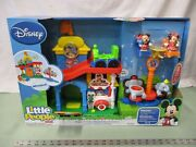 Fisher Price Little People Magic Of Disney Magical Day At Disney Nib Toy Mickey