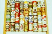 Lot Of 400+ Domestic And Foreign Beer Cans And03970s Andand03980s Collection