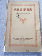 Vintage West Seattle - Holy Rosary Church Cookbook 1930