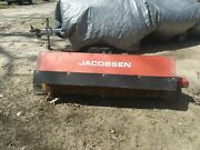 Jacobsen Hydralically Driven Roatery Angel Broom Fits Skid Steer Tractor