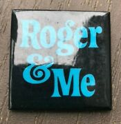 Michael Moore's Roger And Me Promotional Pin
