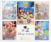 Disney Pixar Ceaco 5 Jigsaw Puzzle Set Toy Story 2 Cars The Incredibles