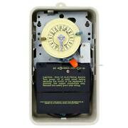Mechanical Time Switch 24 Hour Outdoor Enclosure Pool Heater Protection 40 Amp