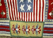 Wool Rug Made For New Hampshire Historical Society 5' By 6' Awesome Hand Made