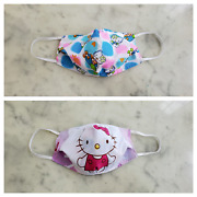 Handmade Limited Face Mask Reversible Washable W Pocket Filter 100 Cotton 3