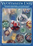 Womans Day Magazine July1965 Collectors Edition Antique Glass Paperweights